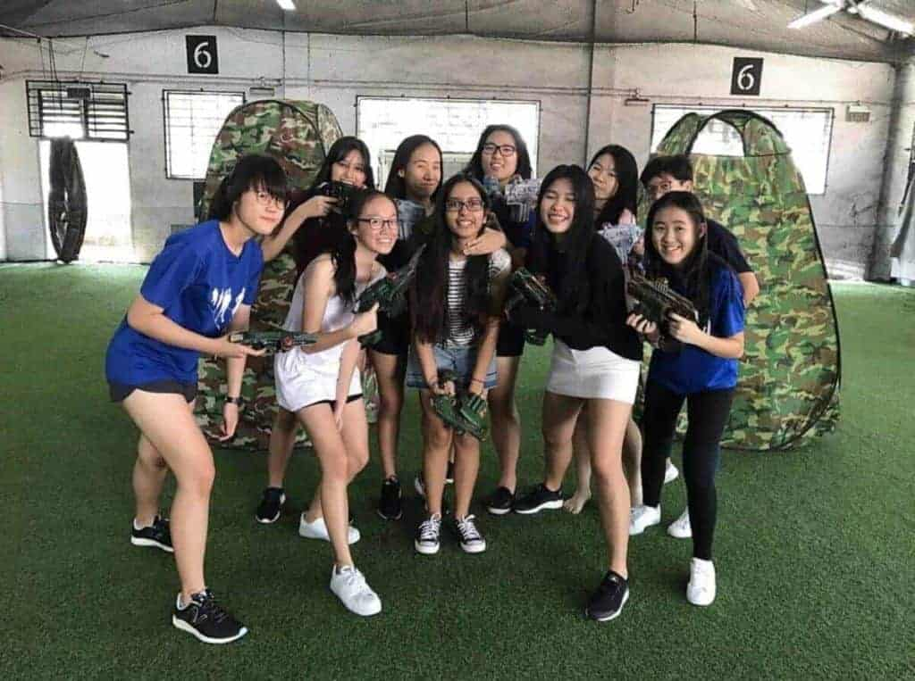 laser tag Singapore - laser tag clients